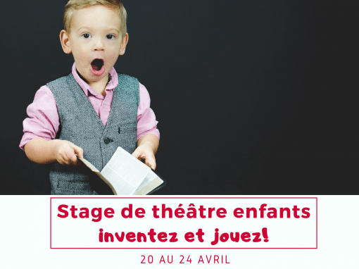 Stage enfants – 20 au 24 avril