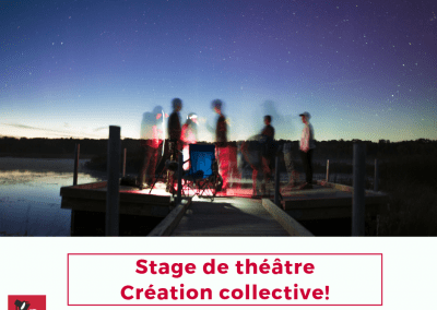 Stage « Création collective » : 26-28 juin